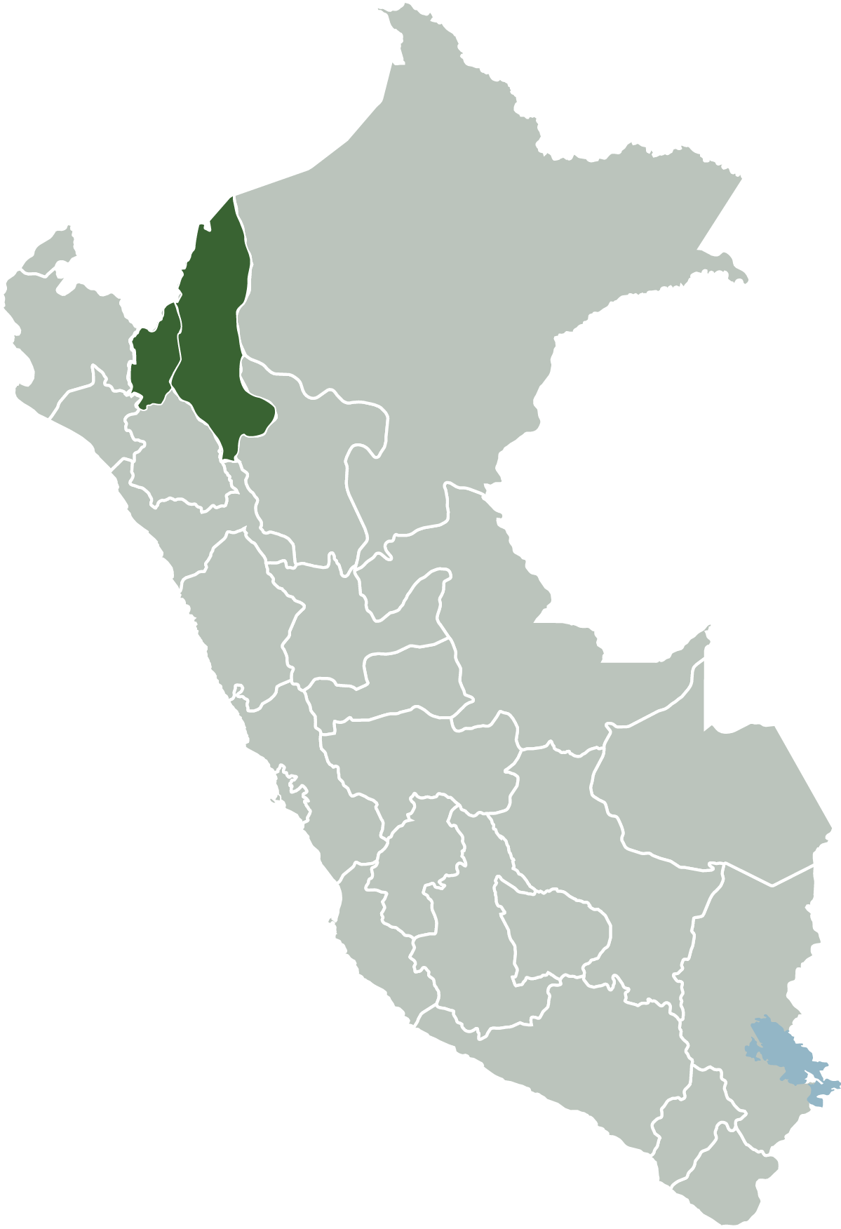 Area de jurisdiccion
